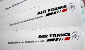 VOYAGER AVEC AIR FRANCE AU BRESIL